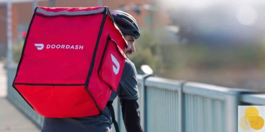 Doordash cyclist