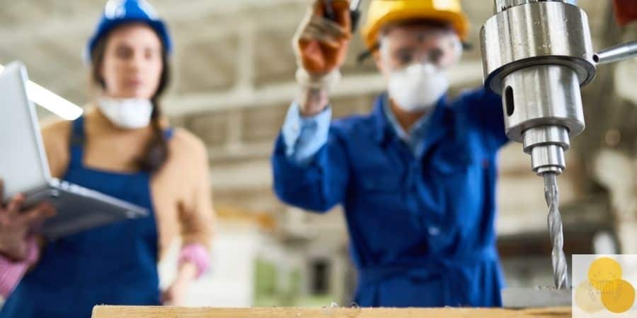 Drill that can cause workplace injury