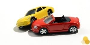 Vehicle injury & pile up car crash scene figurines