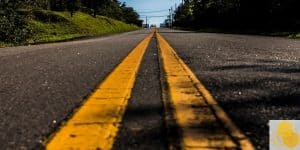 Personal injury mistakes to avoid, picture of road close-up