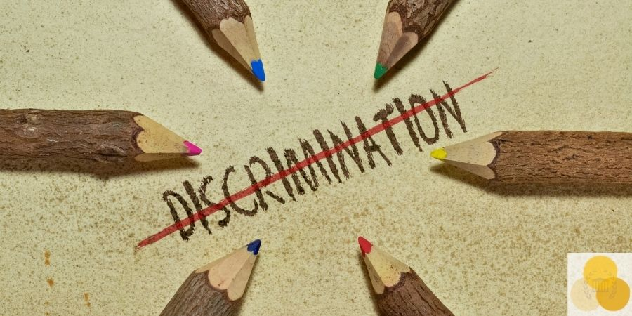 discrimination sign