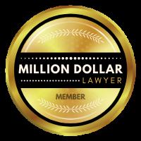Million Dollar Lawyer Badge